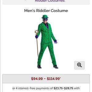 Riddle Halloween costume